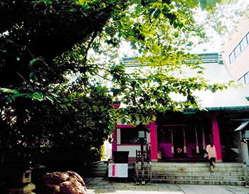 上尾宿の中心に位置した氷川鍬神社