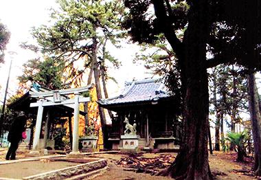 高稲荷神社(練馬区桜台)。大蛇伝説が残る