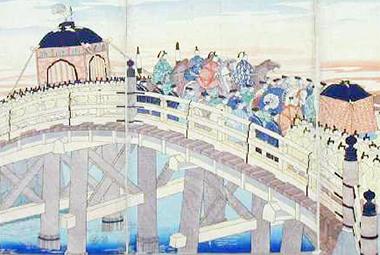 明治元年東京行幸の図