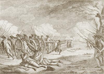 「レキシントンの戦い」1775年