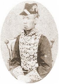 明治天皇、1872年(20歳)