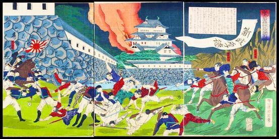 熊本城争戦の図