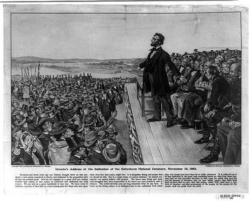 ゲティスバーグ演説(1863年11月19日)