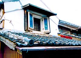 中山道沿いの古民家(蕨宿)